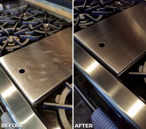 Repaired and Refinished Stove
