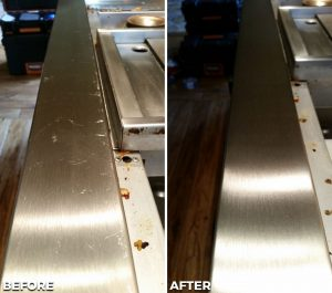 Repaired and Refinished Service Line